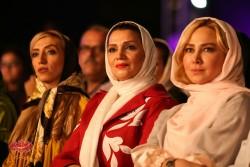 آنا نعمتی و الهام پاوه نژاد در کنسرت «ناگفته» شهرام و حافظ ناظری