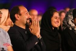 اصغر فرهادی  در کنسرت «ناگفته» شهرام و حافظ ناظری