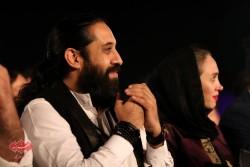 روزبه نعمت اللهی و همسرش  در کنسرت «ناگفته» شهرام و حافظ ناظری