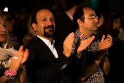 اصغر فرهادی در کنسرت گروه کامکارها در اولین شب فستیوال «بارانا»
