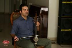 مسلم علیپور در تمرین گروه مستان قبل از کنسرت درقلب عاشقان