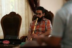 پاشا هنجنی در تمرین گروه مستان قبل از کنسرت درقلب عاشقان