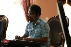 محمود نوذری در تمرین گروه مستان قبل از کنسرت درقلب عاشقان
