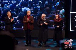 تقدیر از محمد کاسبی در افتتاحیه جشنواره فجر